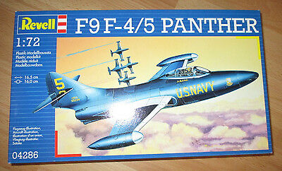 F-9 F-45 Panther US Navy, Revell 04286 Bausatz Kit in 1:72