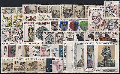 Czechoslovakia 1990, Complete Year Set Stamps, **mnh**