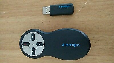 Kensington wireles presenter with red laser remote control