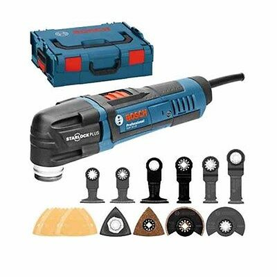 New Bosch GOP 30-28 Starlock Multi Tool With Accessories In L-Boxx 110v (2347)