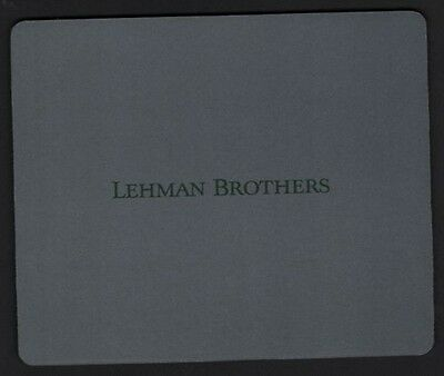 New LEHMAN BROTHERS VINTAGE Mouse Pad Mats Mousepad Hot Gift