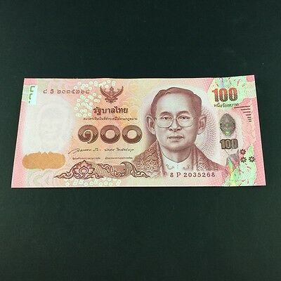 1 x Old Antique Thai Banknote King Bhumibol Rama 9 Collectible Rare 100 Baht