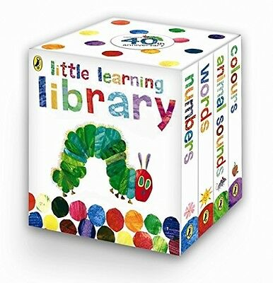 The Very Hungry Caterpillar Little Learning Library Toddler Childrens Mini Books