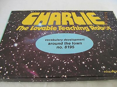 Charlie the Lovable teaching Robot Around the Town