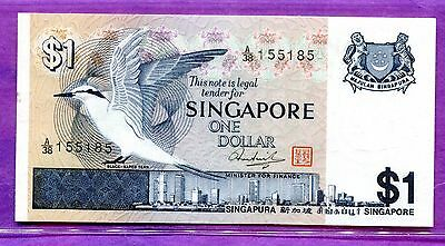 1976 Singapore One Dollar Note - Uncirculated P-9