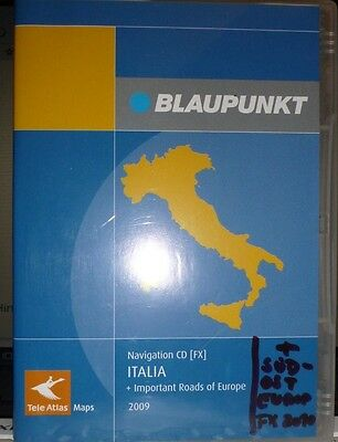 Navigation CD (FX) ITALIEN (incl. important roads of Europe) f. VW, Seat u.Skoda