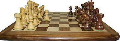 Staunton  Hand Carved Wooden Luxury Chess Set with Box