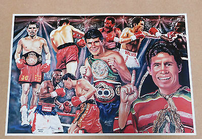 Julio Cesar Chavez Caricature Poster/Print/Photo Huge