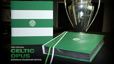 Official Celtic Opus European Champions Edition Rare Limited 500 Worldwide