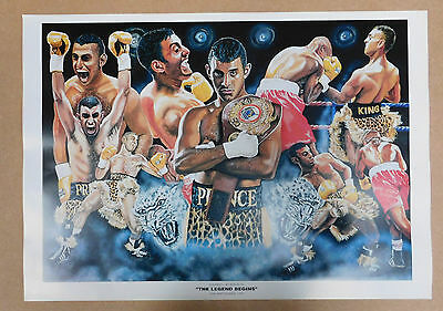 Prince Naseem Hamed Caricature Poster/Print/Photo Huge