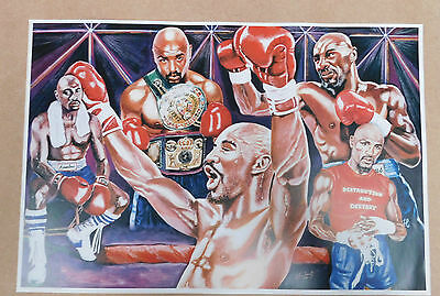 Marvin Hagler Caricature Poster/Print/Photo Huge