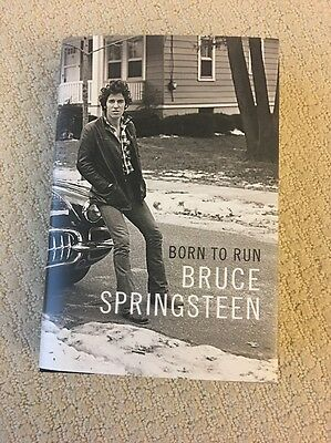 BRUCE SPRINGSTEEN Born to Run SIGNED AUTOGRAPHED Rare Signed Edition + TICKET