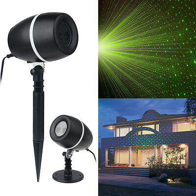 Star Light Shower Motion Indoor Outdoor Xmas Laser Lights Projector Red Green AU