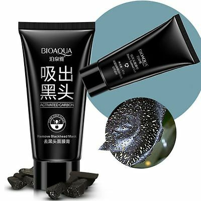 Women Deep Cleansing Blackhead Remover Purifying Peel Off Treat Black Mud Mask