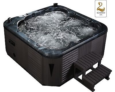 ★ Whirlpool Whirlwanne Hot Tub Wanne Pool Badewanne Outdoor SPA Massage Pool ★★