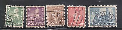 (K4-39) 1936 Denmark 4set 5 ORE to 30 ORE anniversary of reformation (A)