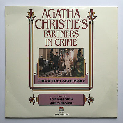 Laserdisc Agatha Christie: Partners in Crime: Secret Adversary