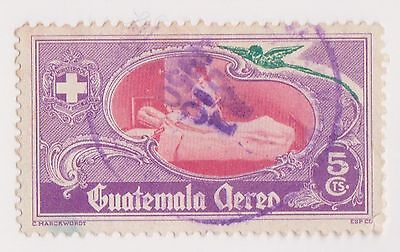 (GMA-98) 1950 Guatemala 5c nurses AIR