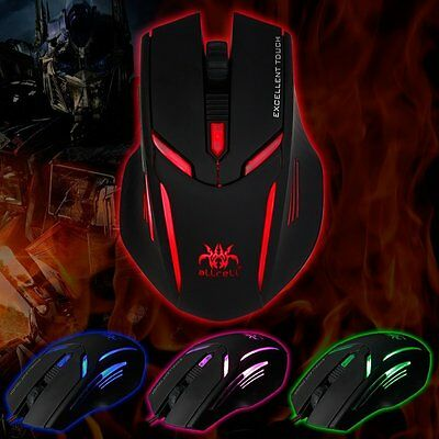 aLLreli SK-T2 High Precision 4000 DPI Optical Wired Programmable Gaming Mouse