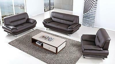 Surprising Modern Black Sofa Set 3 Pcs Genuine Leather American Eagle Gmtry Best Dining Table And Chair Ideas Images Gmtryco