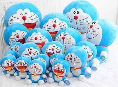 "10/14/20/28"" Doraemon Collection Sitting Plush Stuffed Animal Soft Toy Kid Doll"