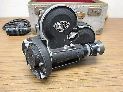 Arri 16mm Camera Vintage Angenieax Type L4 Lens