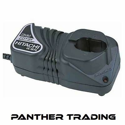 Hitachi Powerful 7.2V - 18V 60 Minute Charger Overcharge Protection - UC18YG