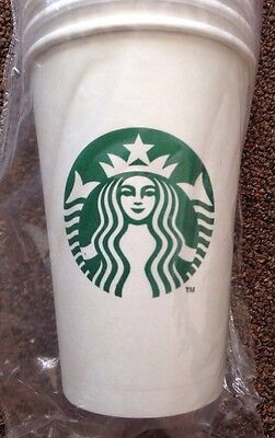 Starbucks 12 oz. Paper Coffee Cups Sleeve of 50 New Sealed! FAST SHIPPER