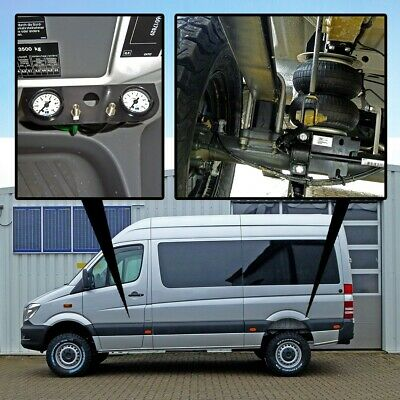 "Luftfederung f. MB Sprinter ""Basis-Kit-Plus"" ALLRAD 4x4 W906 ab 2006 Hinterachse"