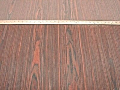 """Rosewood composite wood veneer sheet 24"""" x 96"""" raw no backer 1/42"""" thick (#450)"""