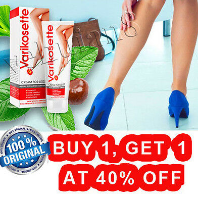 Varikosette cream diseases veins tension legs soothes relieves skin irritation