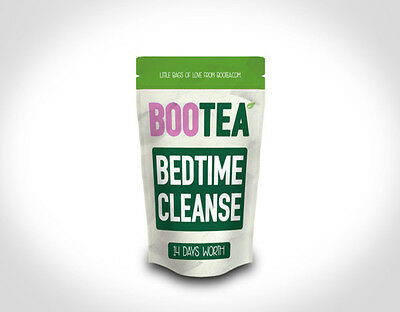 New Bootea Bedtime Cleanse ONLY 14 Days - 7 Teabags Teatox Detox Skinny Boo Tea