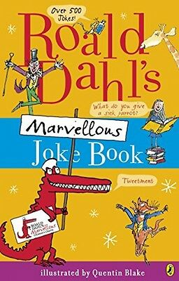 Roald Dahls Marvellous Joke Childrens Book Kids Funny Classic NEW Paperback Book