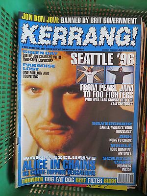 Kerrang :n.574-Alice In Chains-Green Day-Paradise Lost-Napalm Death