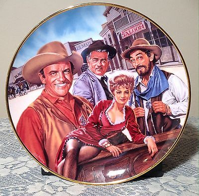 Royal Doulton Gunsmoke 40th Anniversary Plate 1994