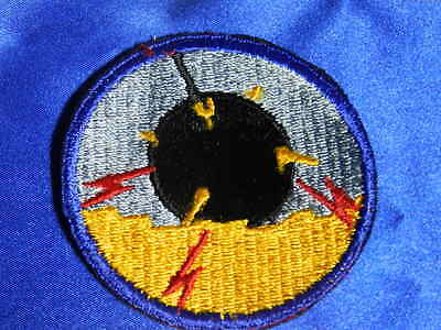 WWII US Navy Minesweeper Patch VGC VT0010