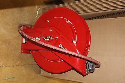 "Reelcraft 7650 OLP Spring Retractable Hose Reel, 3/8"" x 50 Ft. PVC, 300 PSI*"