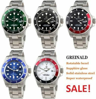 Watch Quartz Men Wrist Steel S Stainless Sport Analog Fashion Army Date Mens