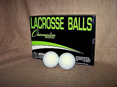 Champion Lacrosse Balls (Set of 2) NFHS Approved / NCAA Specs