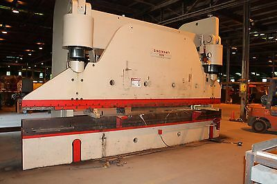 Cincinnati 500 H - 500 Ton Press Brake - 20' Bed - 18' + 2' Horn