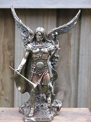 Archangel Gabriel, Veronese Collection, 23cm Bronzed Statue ~ Omni New Age