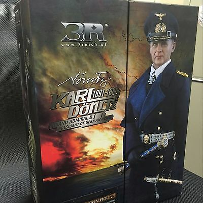 1/6 scale DID 3R GM607 third reich president German Admiral KARL DONITZ rare toy