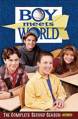 Boy Meets World - The Complete Second Season (DVD, 2010, 3-Disc Set) 2 Two NEW