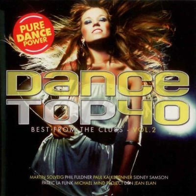 Dance Top 40 Vol.2-The Best From The Clubs - Doppel CD - intern.Pop Compilation