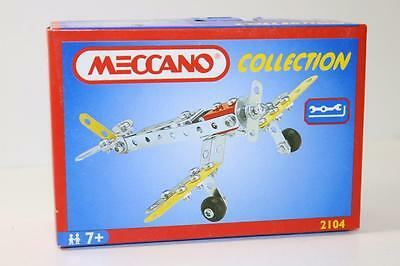 Meccano French 87 piece small set Plane 2104 FNQHobbys MC4