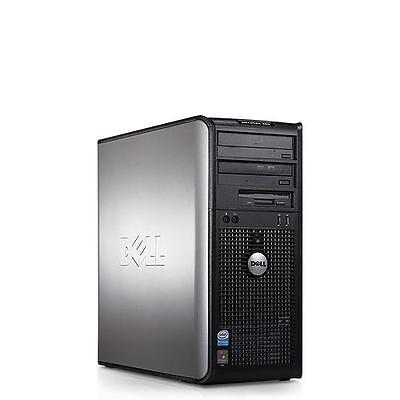 2 x DELL OFFICE DESKTOP TOWER PC DUAL CORE 2.93 GHz 320GB HDD WIFI