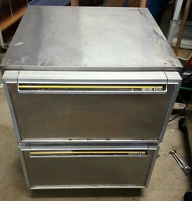 Silver King, Skf27D  /c2 2 Drawers Under Counter Freezer