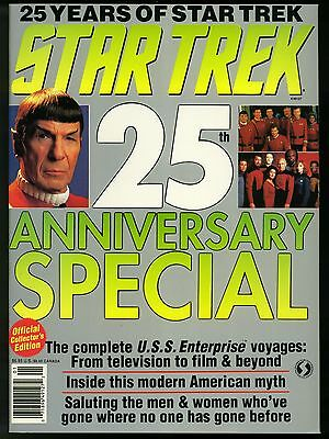 STAR TREK 25th Anniversary special magazine - OFFICIAL COLLECTOR EDITION