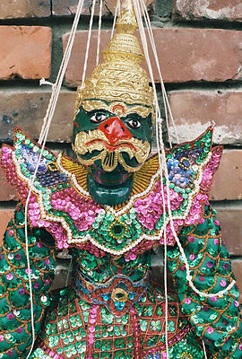 "MARIONETTE  ""THE PALACE OGRE"" (Myanmar)"