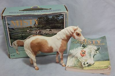 Vintage Breyer Misty of Chincoteague with Book in Original Box